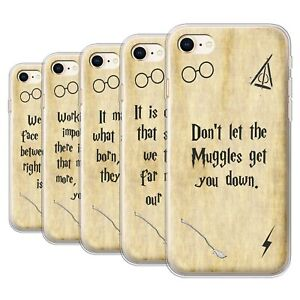 Gel-TPU-Case-for-Apple-iPhone-8-School-Of-Magic-Film-Quotes
