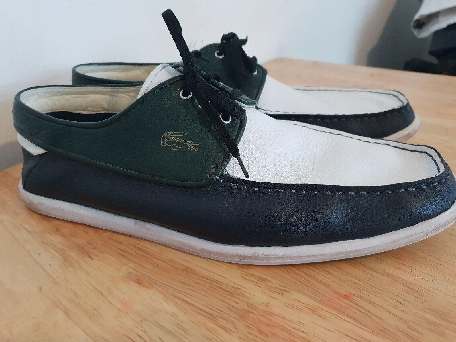 Lacoste Paris Leather Loafers UK Größe 12