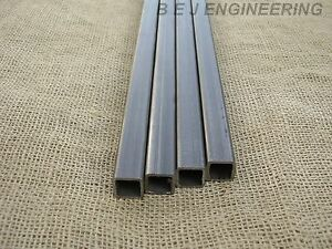 20mm x 20mm x 2mm 2000mm Square Mild Steel Box Section Sizes from 20mm to 100mm