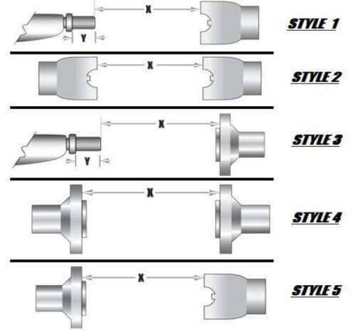 JEEP Wrangler YJ 1310 CV Rear Drive Shaft for YJ Man.Trans 231J Works with SYE