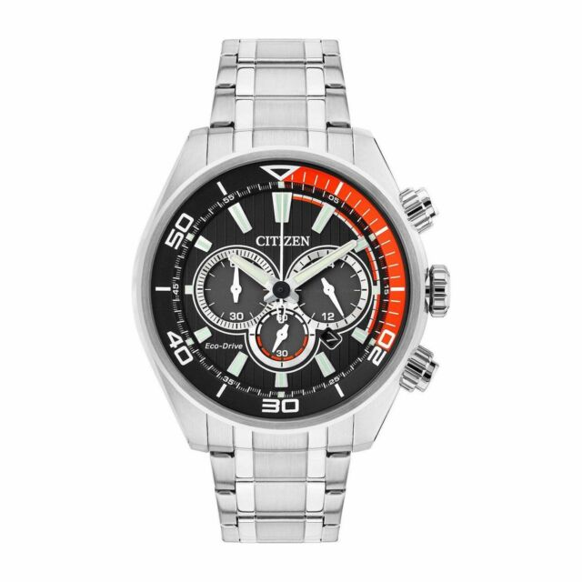 Citizen CA4330-57E Men's Chandler Black Eco-Drive Watch