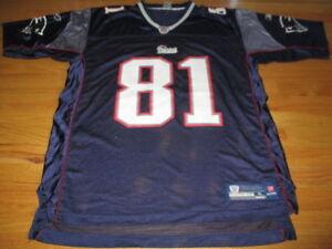 Reebok NFL Players RANDY MOSS No. 81 NEW ENGLAND PATRIOTS (XL ... b4b53a6ac