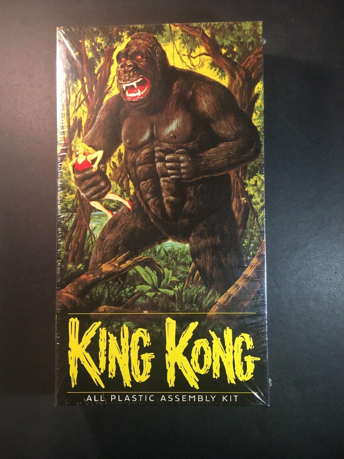 King Kong All Plastic Assembly Kit Aurora 2000 New Sealed Box