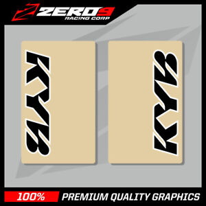 KYB-UPPER-FORK-DECALS-MOTOCROSS-GRAPHICS-MX-GRAPHIICS-ENDURO-CLEAR-BLACK