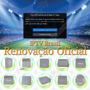 Details about The Official Activate Code For Renew of HTV 2 3 5 6 A1 A2  IPTV 5 6 6+ IPTVPlus