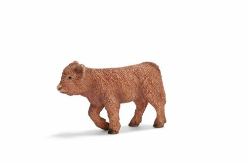 SCHLEICH Farm World 13660 scozzese Highland MANZO VITELLO NUOVO rarità