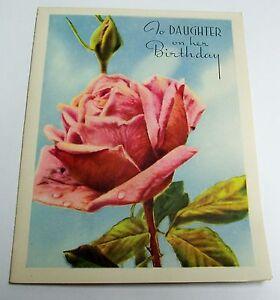 Image Is Loading Vintage Unused Birthday Greeting Card A TRIPLE CARD