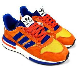 new arrival 5a77a 8fe64 Image is loading NWT-Adidas-Dragon-Ball-Z-ZX500-Restomod-Son-