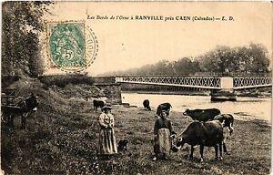 CPA Ranville - Les Bords de L'Orne a Ranville pres CAEN (383556)