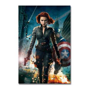Captain America Hot Movie Art Silk Poster Print 13x20 24x36 inches