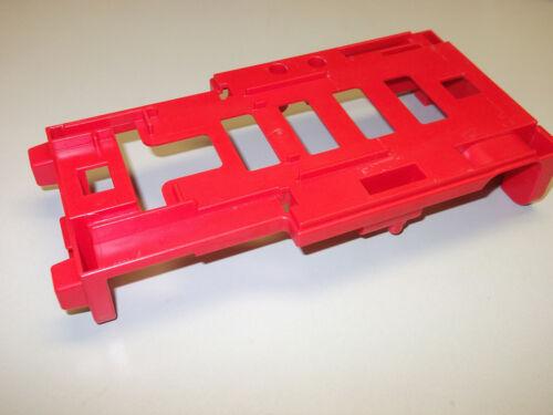 Playmobil rotes Fahrgestell Unterbau für RC Lok Dampflok 4051 4001 99501