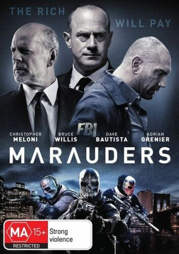 1 of 1 - Marauders (Dvd) Action, Crime, Thriller, Bruce Willis, Christopher Meloni