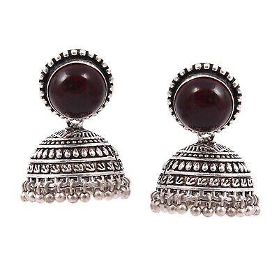 Oxidized Silver Plated Handmade Party Wear Love Jhumka Jhumki Earrings Jewelry for women #LOVE