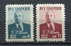 26906) Albania 1960 MNH Lenin 2v