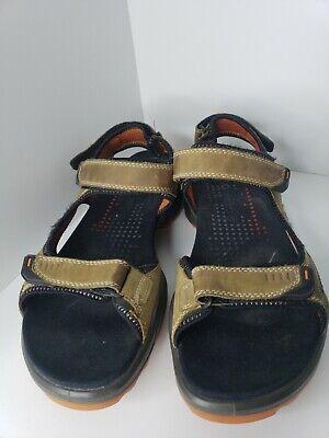 Orange Mesh Sport Sandal Mens Size