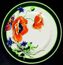 Syracuse NATURE STUDY POPPIES Dinner Plate 6228288