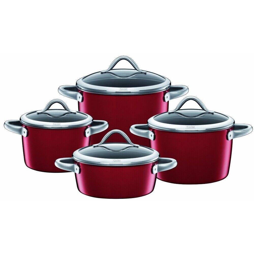 Silit Vitaliano rojo olla-set 4tlg. 21.0927.5909 rojo rojo olla set