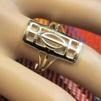 9ct Gold Charles Rennie Mackintosh Ring