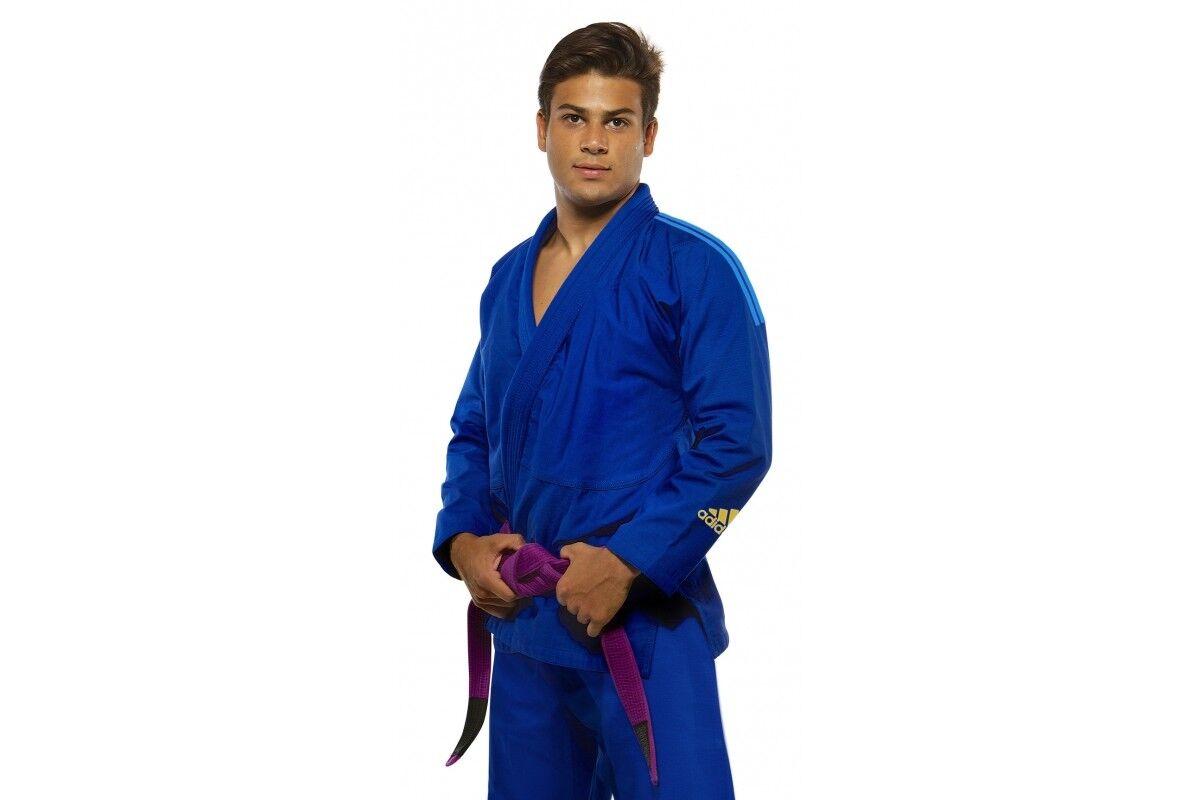 Adidas Response 2.0 BJJ Gi Brazilian  Jiu Jitsu Suit blueeeeeeeee Adult   Kids Uniform  luxury brand