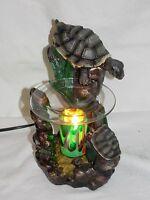 Turtles Turtle On Rock Fragrance Oil Burner Tart Warmer With Dimmer