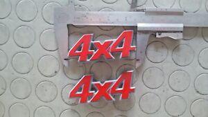Sigla laterale 4x4 Fiat Panda
