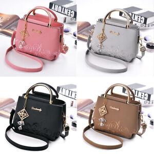 NEW-Women-Lady-Shoulder-Bag-Faux-Leather-Crossbody-Messenger-Handbag-Tote-Purse