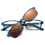 Magnetic-Polarized-Clip-on-Sunglasses-Driving-Rx-able-TR-Eyeglass-Frames-Fashion thumbnail 14