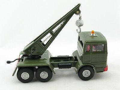 NEUHEIT 2013 Blechspielzeug Mercedes LKW Militär Kranwagen von KOVAP 0664