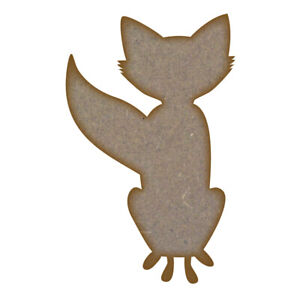 Fox-MDF-Laser-Cut-Craft-Blanks-in-Various-Sizes