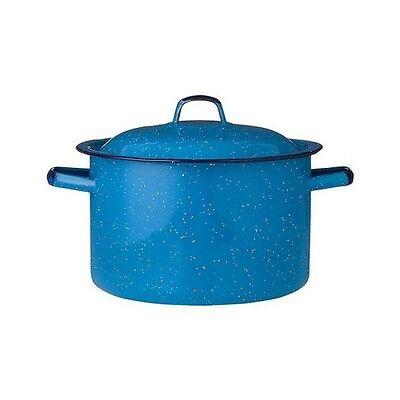 IMUSA Enamel Stock Pot - Turquoise (7.75 qt.)