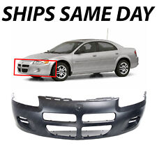 New Front Bumper Cover For Dodge Stratus 2001-2003 CH1000324