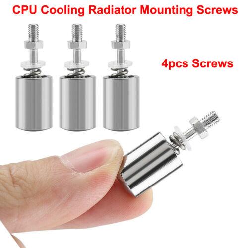 4pcs Screws Water Cooling Block Heatsink Cooler CPU Cooler Accessory For AMD AP