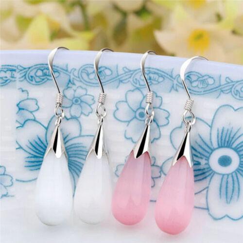 Ein paar Opal Ohrringe Drops lange Ohrringe Beispiel Schmuck Top Qualität ZJHN