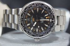 ORIS GMT GENTS AUTOMATIC DIVERS WATCH 7608 BOXED NON WORKING