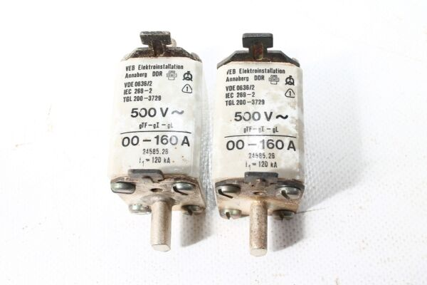 10-pc Vecchio Backup Ddr 500 Volt Fino 160 A