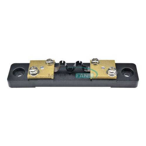 Details about  /Analog Current Meter DC 20A 75mV Divider Shunt Resistor Amp Ammeter Panel