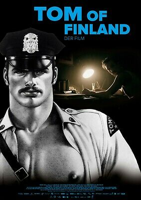 TOM OF FINLAND POSTER A4 A3 A2 A1 CINEMA MOVIE LARGE FORMAT