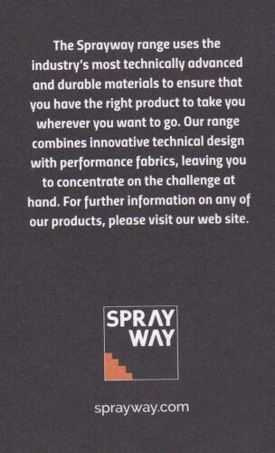 Sprayway All Day Rainpant Homme Imperméable Marche Pantalon randonneurs rainpants LP £ 80
