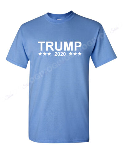Trump 2020 T-shirt Donald Trump President Pro Make America Great Republican Tee