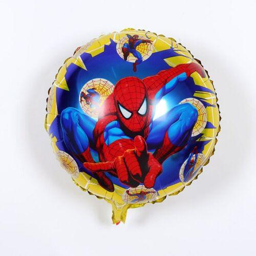 SPIDERMAN FOIL HELIUM BALLOON BIRTHDAY PARTY GIFT 45x45cm