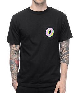 e3a1f35326c9 Odd Future OFWGKTA Single Donut Black Pocket T-Shirt S-XL NWT 100 ...