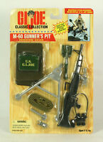 Gi Joe Classic Coiiection M-60 Gunner's Pit 12 Hasbro G. I. Joe