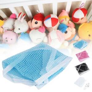 Deluxe-Pet-Net-Children-Stuffed-Animal-amp-Toy-Organizer-Hammock-net-and-trim-JL