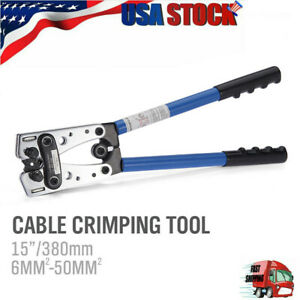 Cable-Lug-Crimping-Tool-For-Wire-Lugs-Battery-Terminal-Copper-Lugs-6-50mm-US