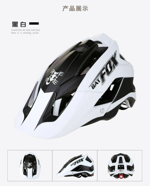 MTB Bike Helmet Mountain Bike Cycling Helmet Detachable Visor 15 Vents Fashion
