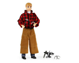 Breyer-Model-Horses-Traditional-Size-8-034-Farrier-Jake-with-Blacksmith-Tools-530