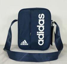 adidas performance linear small items organiser bag travel Satchel Navy