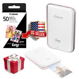 NEW Canon IVY Mobile Mini Photo Portable Printer Bluetooth Wireless GIFT Bundle