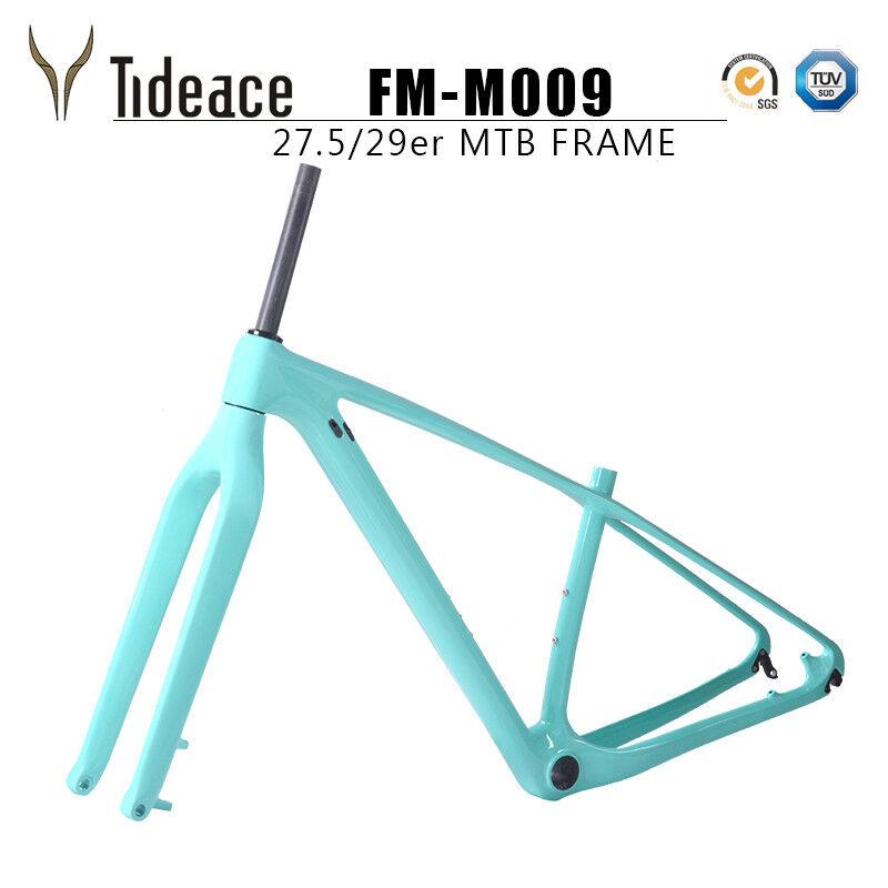 29er T800 Aero in fibra di carbonio Mountain Bicicletta Telaio con Forcella CELEST PITTURA OEM