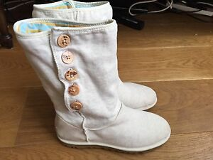 sale retailer outlet store sale classic styles Details about Ladies Cotton Summer Ugg Boots Size 7.5